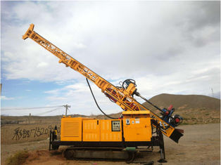 RC300 Full Hydraulic Top Drive Crawler Core Drill Rig Borehole Depth 300 M